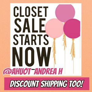 Closet Clear Out DISCOUNT SHIPPING
